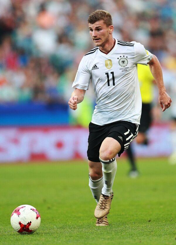 Нападающий сборной Германии по футболу Тимо Вернер