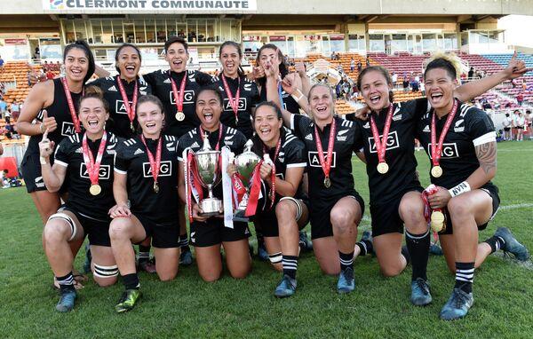 Игрок женской сборной Новой Зеландии по регби-7