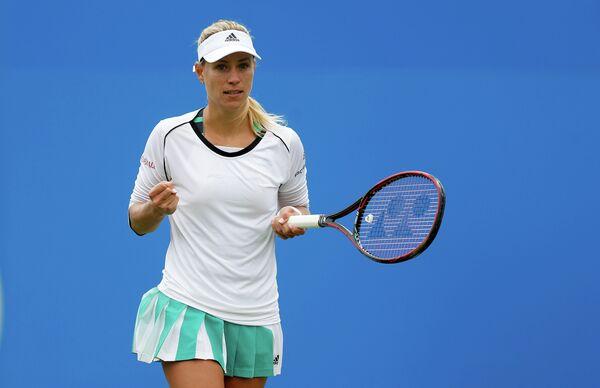 Ангелика Кербер на теннисном турнире в Истбурне