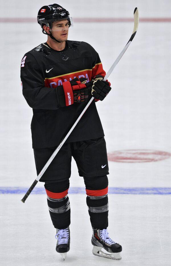 Форвард сборной Канады Крис Куниц