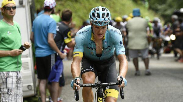 Датский велогонщик Астаны Якоб Фульсанг