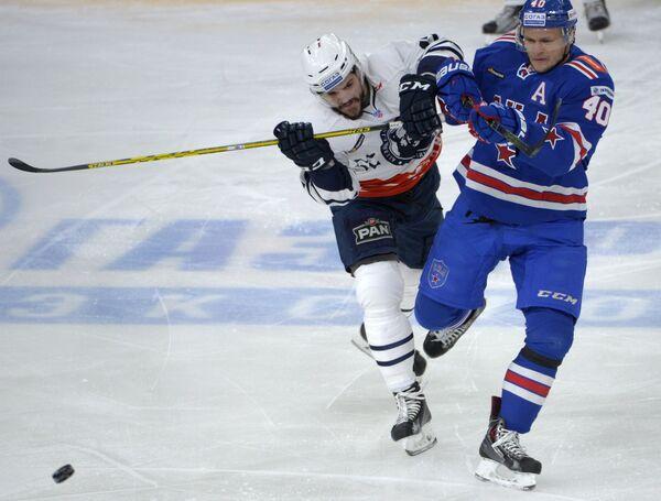 Евгений Кетов (справа) и Жильбер Брюле