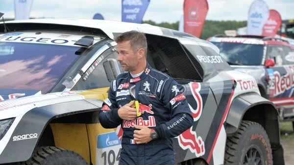 Французский пилот команды Peugeot Себастьян Лёб