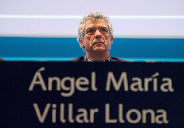Руководитель Королевской испанской футбольной федерации (RFEF) Анхель Мария Вильяр