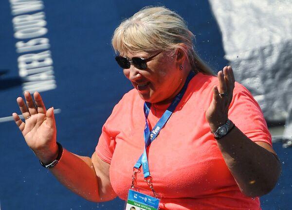 Главный тренер сборной России по синхронному плаванию Татьяна Покровская