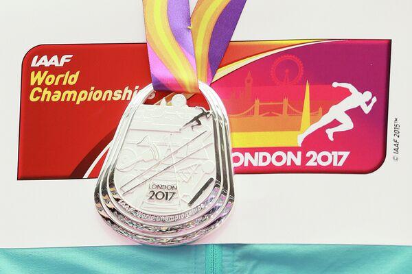 Серебряная медаль чемпионата мира 2017 года в Лондоне