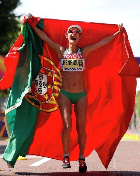 Португальская легкоатлетка Инеш Энрикеш