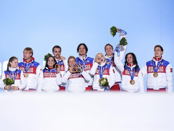 Сборная команда России по фигурному катанию на ОИ-2014 в Сочи