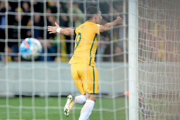 Нападающий сборной Австралии Томи Юрич