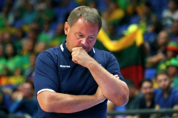Главный тренер сборной Украины по баскетболу Евгений Мурзин