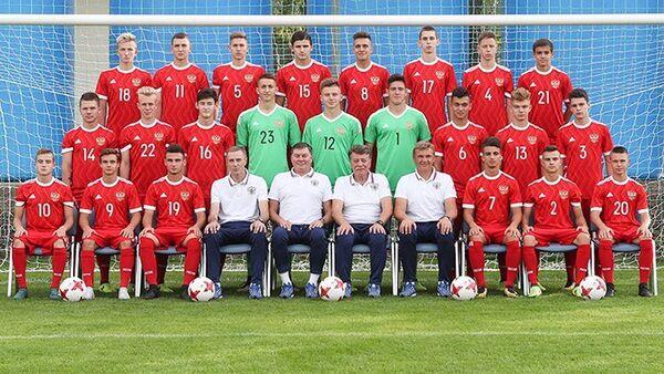 Футболисты юношеской сборная России (игроки не старше 17 лет)