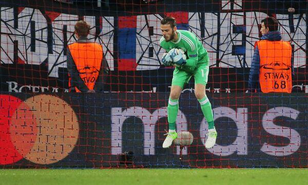 Вратарь Манчестер Юнайтед Давид де Хеа
