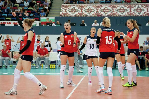 Волейболистки сборной Белоруссии