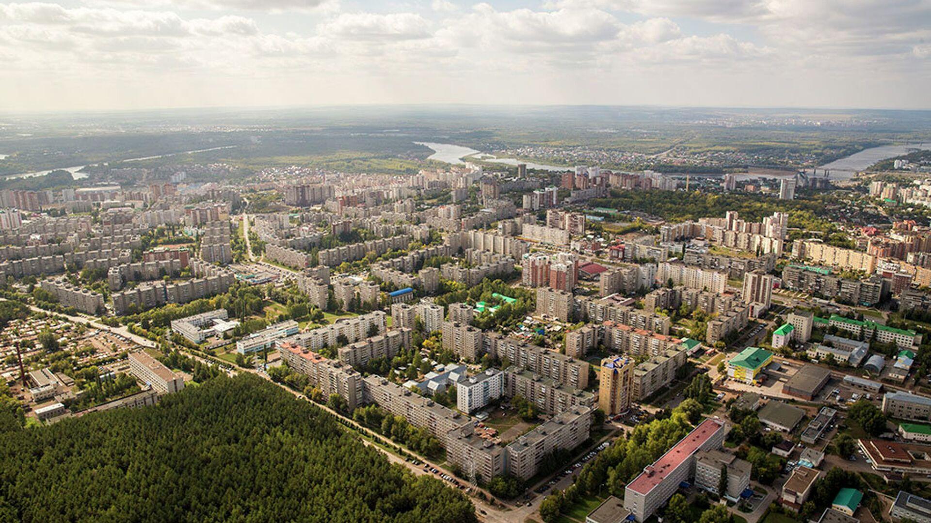 Вид с воздуха на город Уфа - РИА Новости, 1920, 26.01.2021