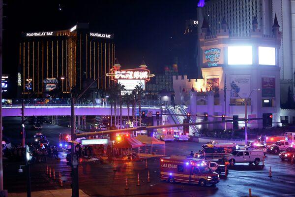 Ситуация в Лас-Вегасе после перестрелки
