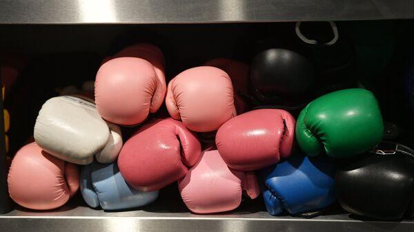 Женский боксерский клуб в Джидде