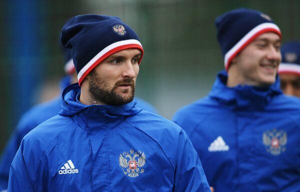 Защитник сборной России по футболу Константин Рауш