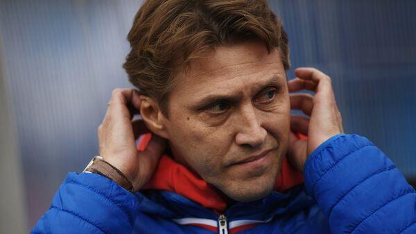 Старший тренер молодежной сборной России Евгений Бушманов