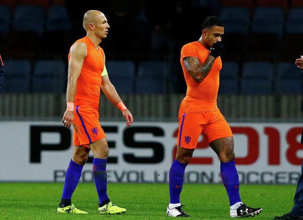 Футболисты сборной Нидерландов