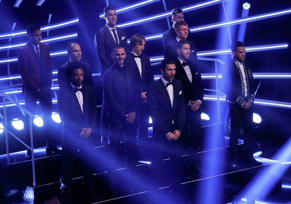 Команда года по версии ФИФА и FIFPro