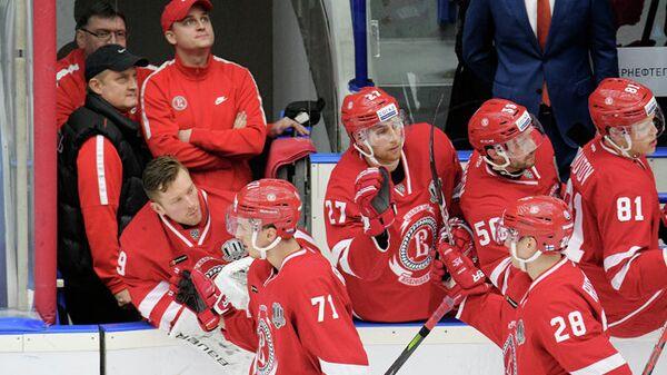 Хоккеисты Витязя