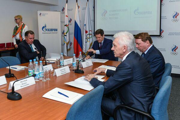 Заседание исполкома Олимпийского комитета России