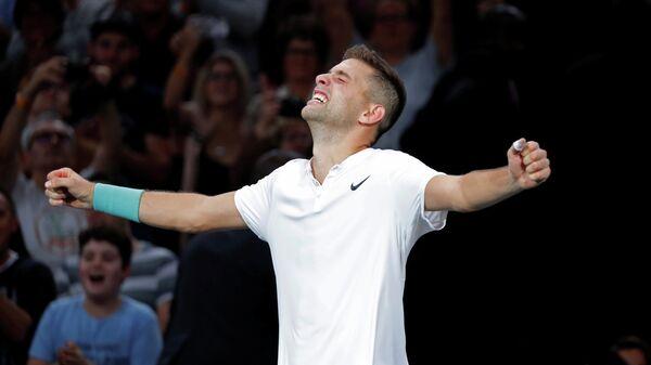 Сербский теннисист Филип Крайинович
