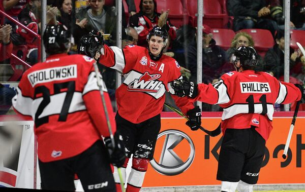 Хоккеисты сборной Западной хоккейной лиги (WHL)