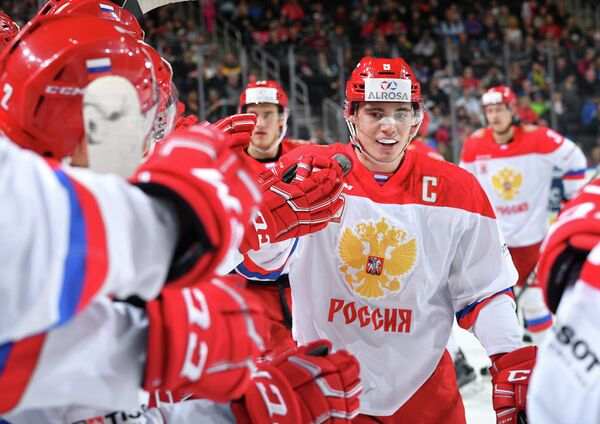 Нападающий молодежной сборной России Дамир Рахимуллин