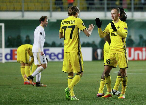 Футболисты молдавского Шерифа