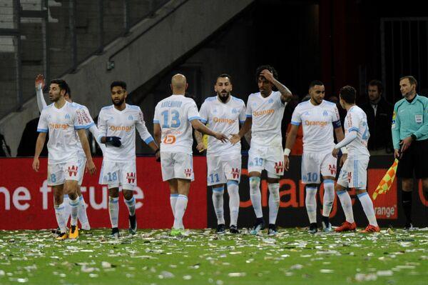 Футболисты французского Марселя