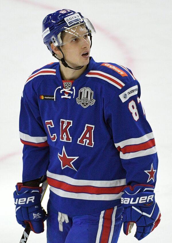 Форвард ХК СКА Вадим Шипачёв