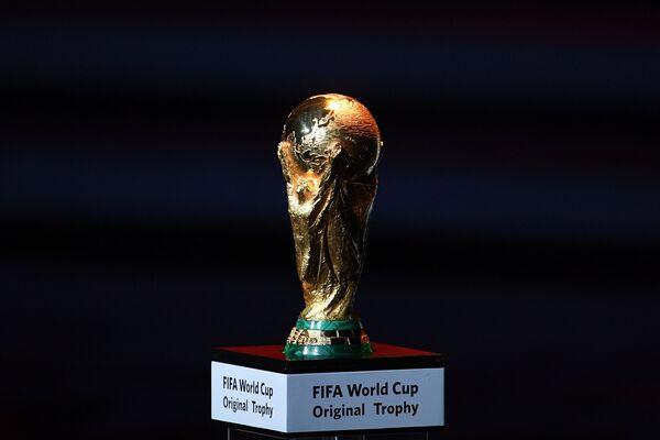 Кубок чемпионата мира по футболу на официальной жеребьевке чемпионата мира-2018 по футбол