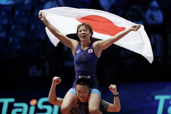 Японская спортсменка Рисако Каваи