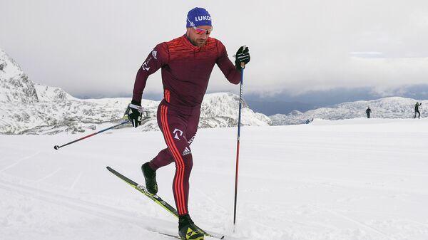 Российский лыжник Алексей Петухов