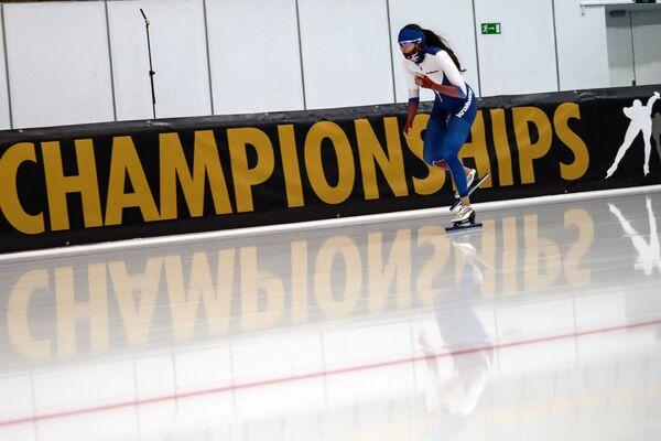 Конькобежка из России