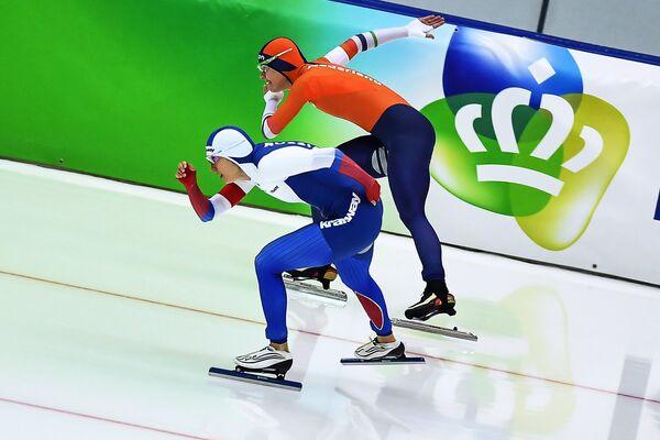 Екатерина Шихова и Маррит Ленстра (слева направо)