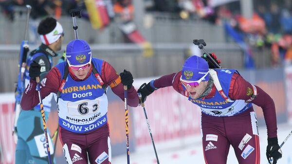 Антон Бабиков (слева) и Максим Цветков