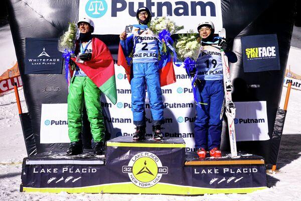 Антон Кушнир, Максим Буров и Наоя Табара (слева направо)
