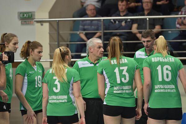 Волейболистки ЖВК Заречье-Одинцово
