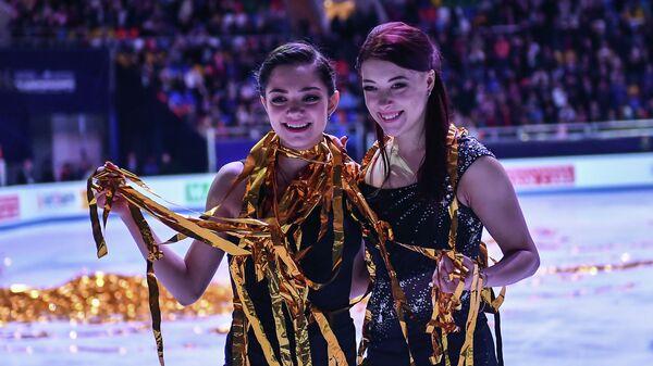 Евгения Медведева и Екатерина Боброва