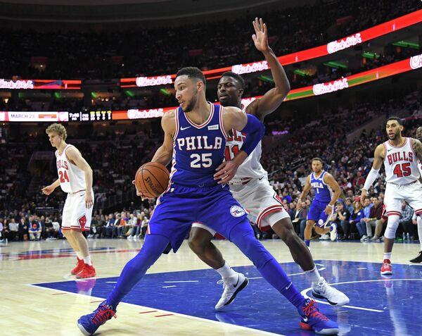 Форвард клуба НБА Филадельфия Севенти Сиксерс Бен Симмонс (№25)