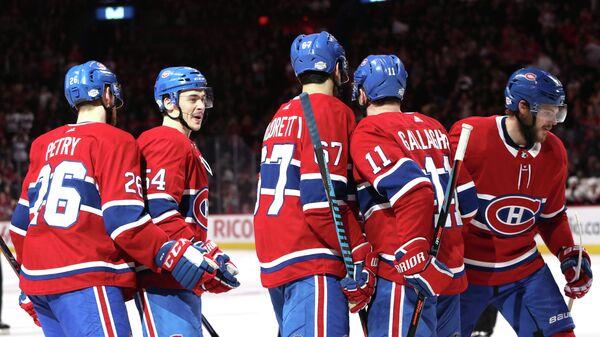 Хоккеисты клуба НХЛ Монреаль Канадиенс