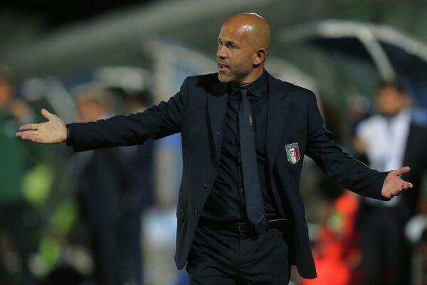 Итальянский футбольный тренер Луиджи Ди Бьяджо