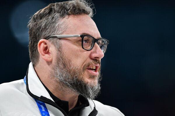 Тренер олимпийских спортсменов из России Василий Гудин