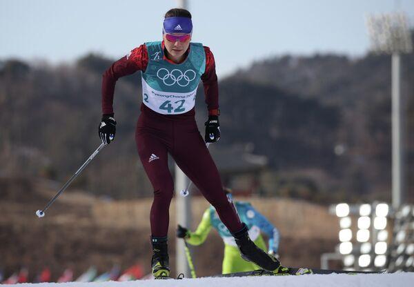 Российская лыжница Анастасия Седова