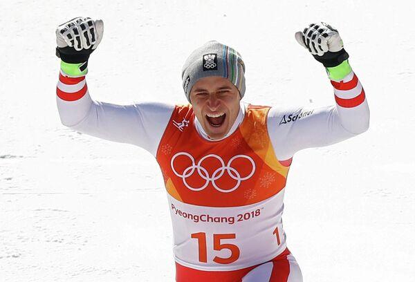 Австрийский горнолыжник Маттиас Майер