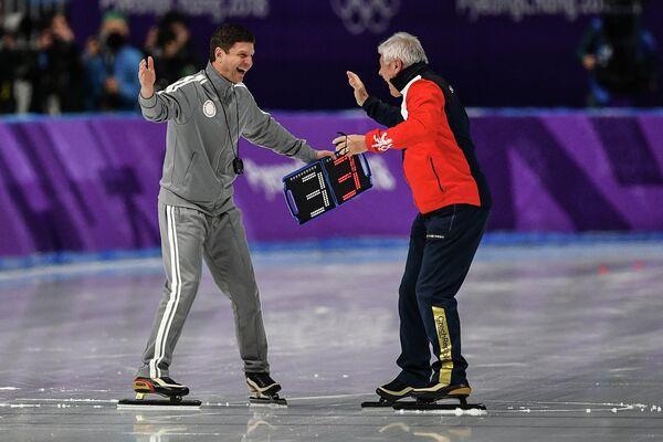 Тренеры Сергей Клевченя (слева) и Петр Новак