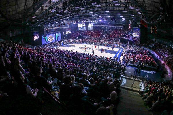 Игровой момент Матче всех звезд Единой лиги ВТБ