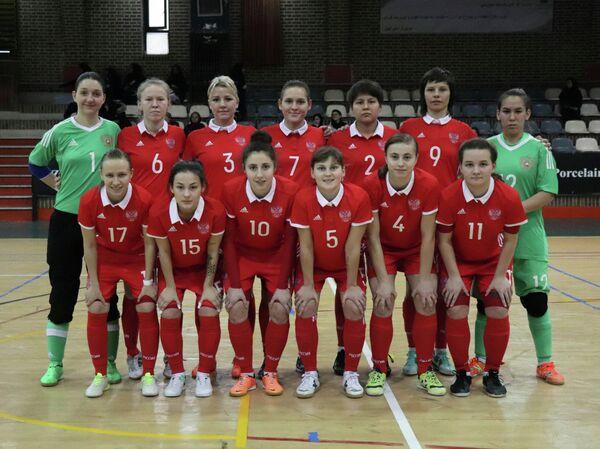 Женская сборная России по мини-футболу